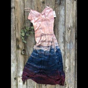 Hard Tail Ombré Maxi Dress Silky